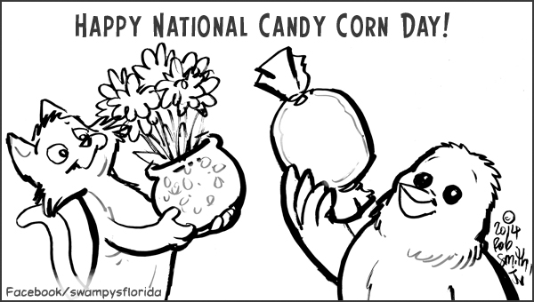 2014-1030-Happy-CandyCorn-BW